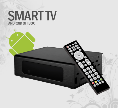 Smart TV Android OTT Box